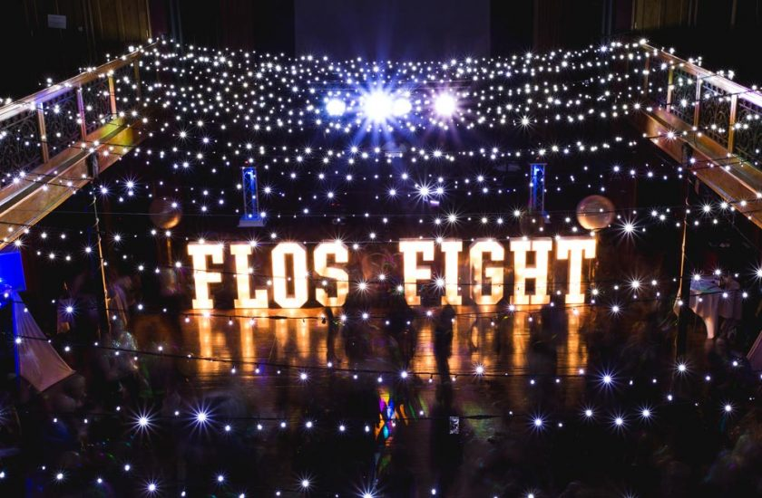 """""""Flos Fight"""" Event"""